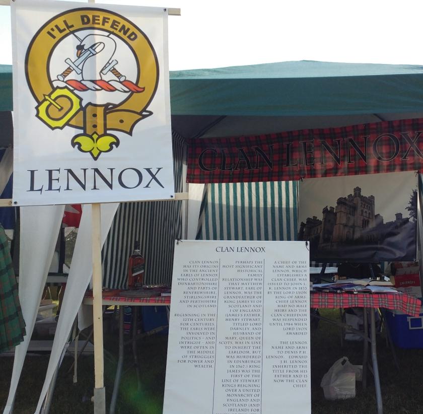 Fergus Lennox Clan Tent