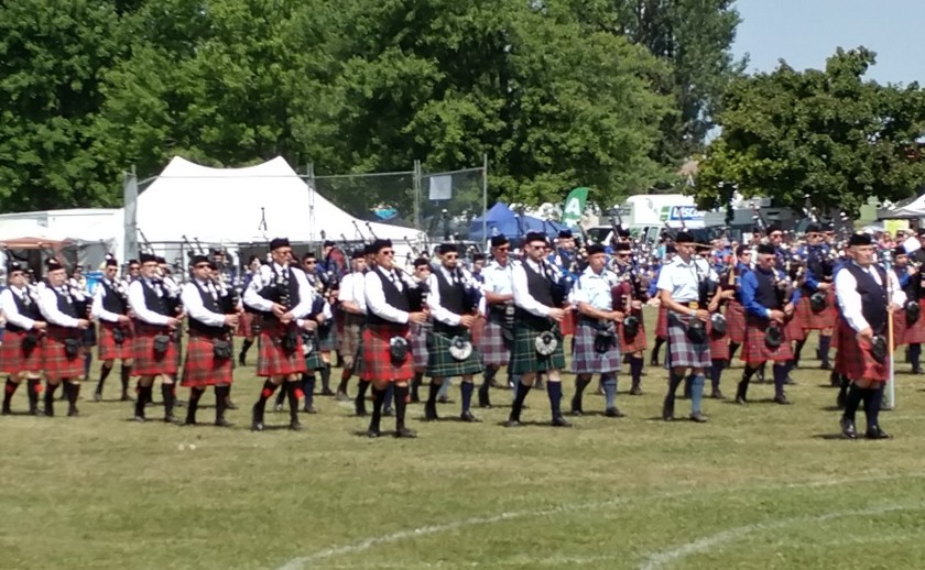 Fergus Pipe Band #3